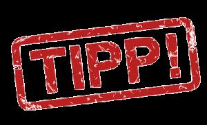 Tipp-Zeichen